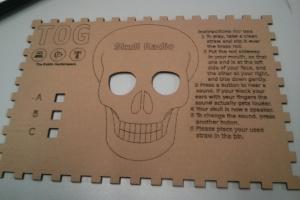 Skull Radio Box