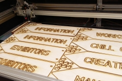 Laser Cut Signs