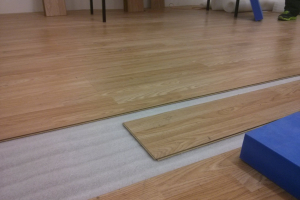 Blackpitts Common Room Floor