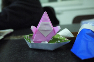 Christmas Origami Workshop 2012