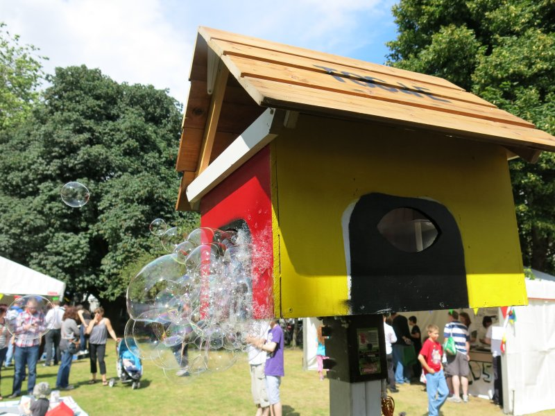 Bubble Birdhouse