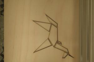 Laser Cut Rebel Stencils