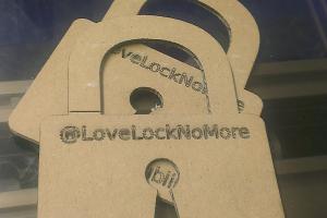 LoveLockNoMore Calling Cards