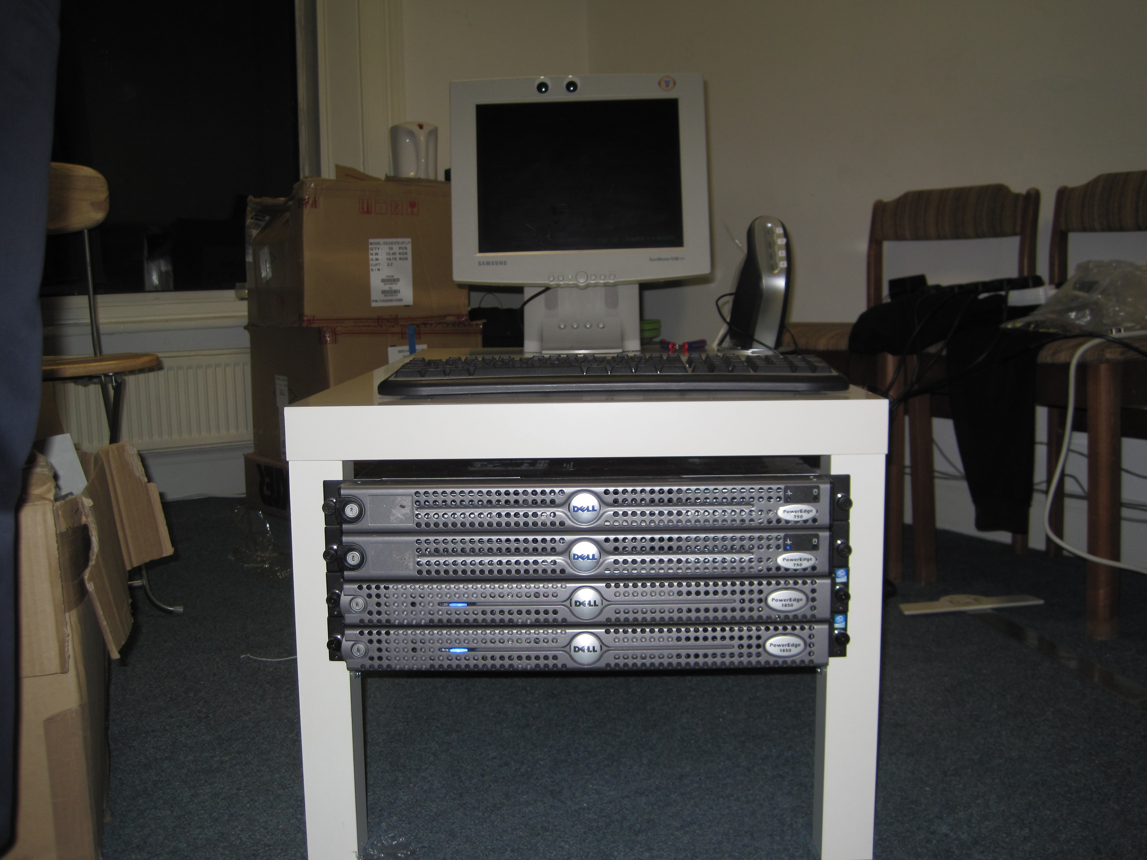 lack server rack | dublin hackerspace, diy, projects, electronics