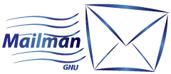 The Mailman GNU logo
