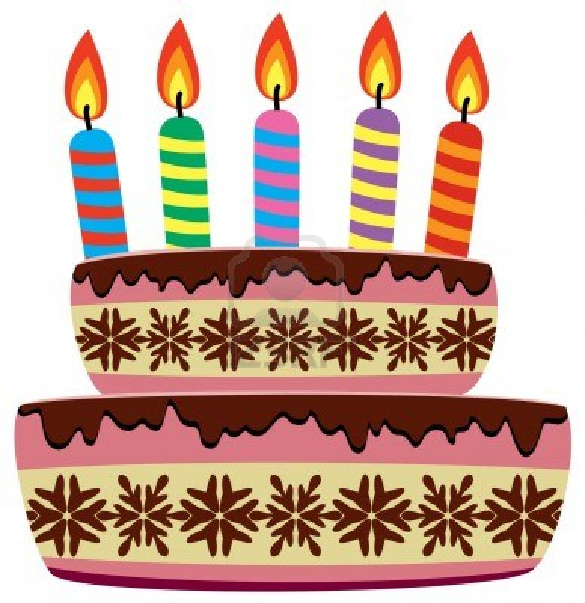9206919 vector birthday cake with burning candles cakes by post monthly 6 on cakes by post monthly