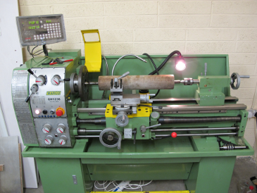 Lathe up and running