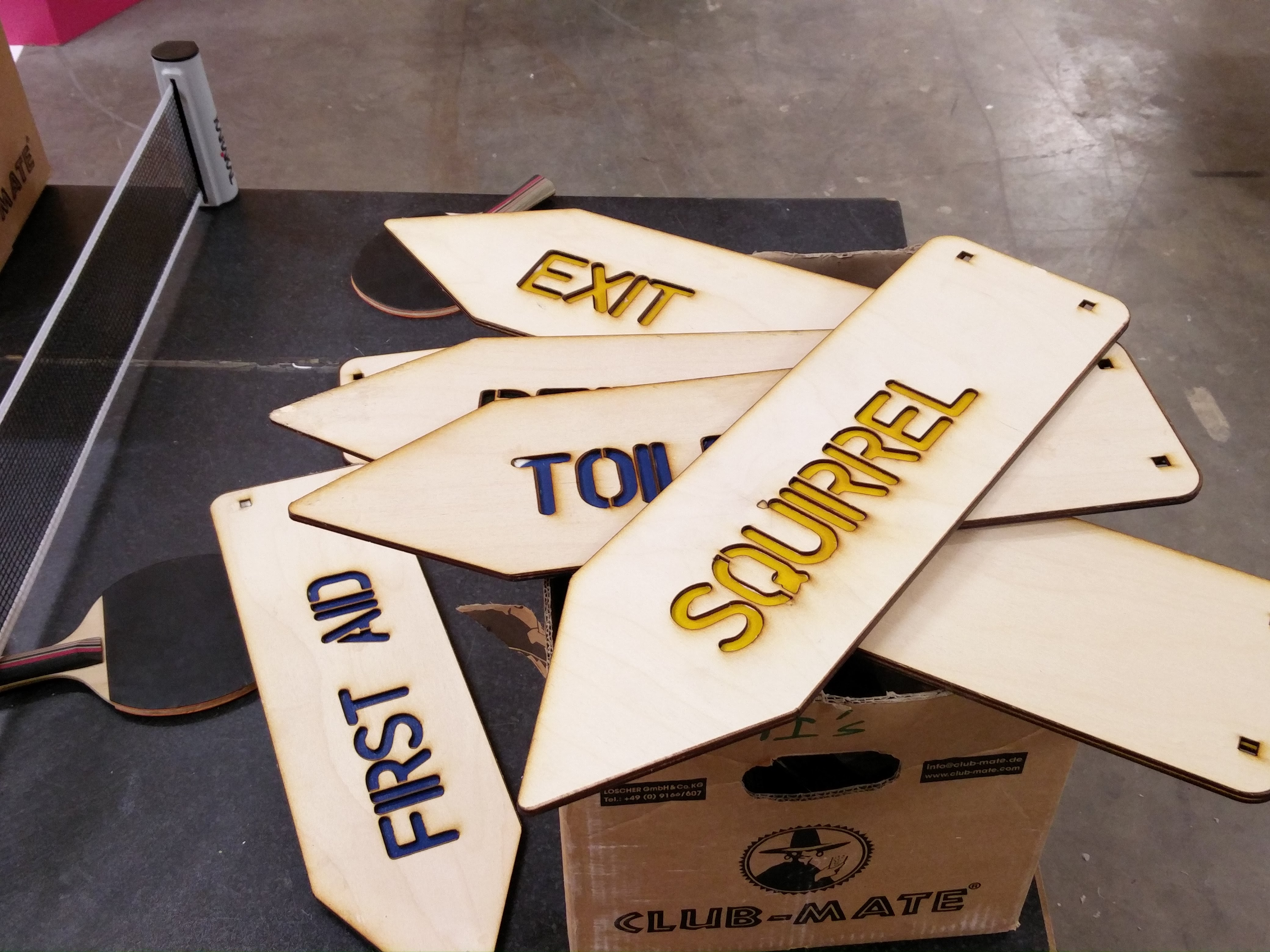 Project: Laser Cut Signs