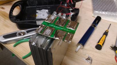 Rebuilding an Ebike Battery