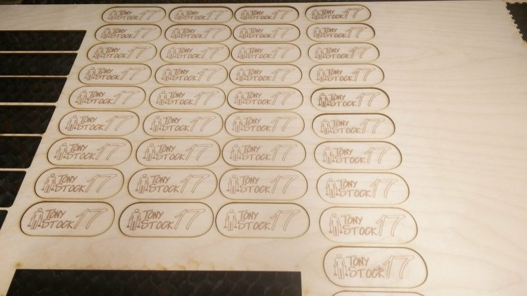 Project: Lasercut Fridge Magnets