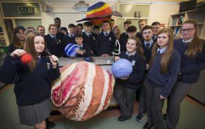Students in Tallaght Community School